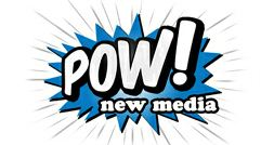 Pow New Media Logo